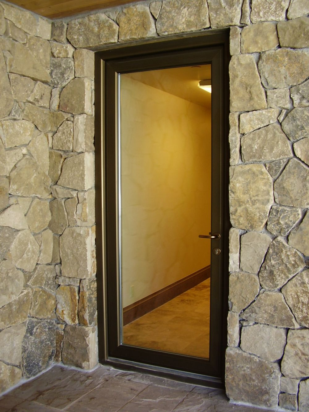 Stunning Front Door With Security Glass Gallery - Exterior ideas 3D ...